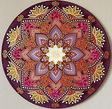 Dekorácie - Mandala...Pod šťastnou hviezdou - 9479878_