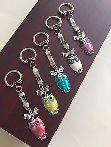 Kľúčenky - Kľúčenky sovičky - 9477370_