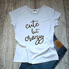 Tričká - Dámske tričko Cute - 9479450_