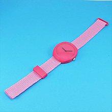 Náramky - Designové hodinky duha magenta - 9478863_
