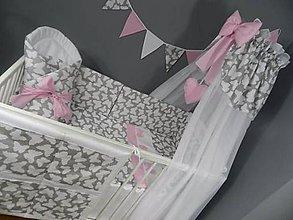Textil - 8 dielna sada do detskej postielky - 9478441_