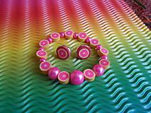 Sady šperkov - Súprava - Ružový grep - 9478841_