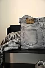 Veľké tašky - Recy džínová kabelka-oboustranná - 9478945_