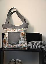 Veľké tašky - Recy džínová kabelka-oboustranná - 9478949_