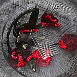 Ozdoby do vlasov - Spoločenský fascinátor s tulipánmi - 9477849_