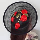 Ozdoby do vlasov - Spoločenský fascinátor s tulipánmi - 9477850_