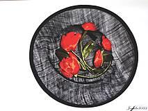 Ozdoby do vlasov - Spoločenský fascinátor s tulipánmi - 9477889_
