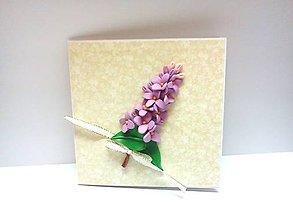 Papiernictvo - Pohľadnica ... Vôňa jari - 9482705_