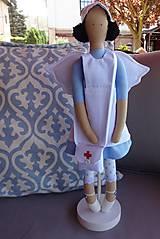 Bábiky - Anjelka - zdravotná sestrička - 9481785_