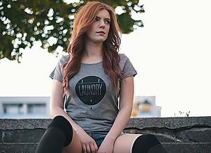 Tričká - Dámske tričko LAUNDRY (organická bavlna) - 9482418_