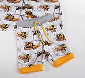 Detské oblečenie - Letné krátke nohavice - 9482351_