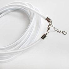 Komponenty - Hodvábny náhrdelník 5mm - 9482596_
