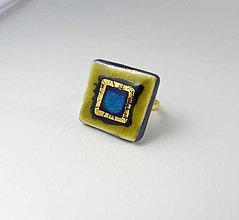 Prstene - Tana šperky - keramika/zlato - 9482507_