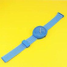 Náramky - Designové hodinky duha blue - 9482139_