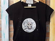 Tričká - Dámske tričko - Owl - 9482441_