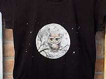 Tričká - Dámske tričko - Owl - 9482442_