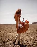 Šaty - Dámske ľanové zavinovacie šaty CLAIRE - dostupné v 18 farbách - 9483052_