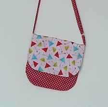 Detské tašky - Detská kabelka veselé dáždničky - 9481224_