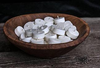 Svietidlá a sviečky - Sójové čajové sviečky 36 ks (náplne) - 9483676_