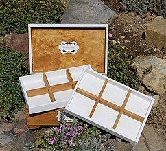 Krabičky - šperkovnica na želanie :) - 9480604_
