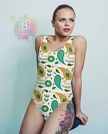 Bielizeň/Plavky - Jednodielne plavky