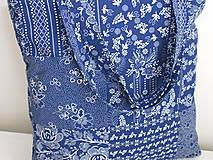 Nákupné tašky - ...vzor modrotlač... - 9480589_