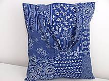 Nákupné tašky - ...vzor modrotlač... - 9480600_