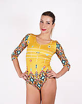 Topy - Navajo tribal winter - dámske body - 9482153_