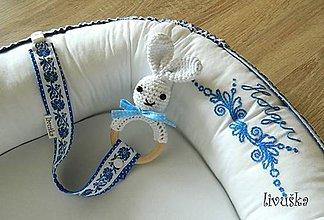 Textil - Hniezdo pre bábätko - Vyšívané - 9485194_