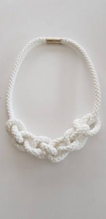 Náhrdelníky - Lano náhrdelník - 9485618_