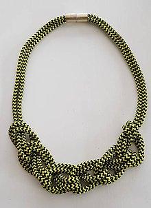 Náhrdelníky - Lano náhrdelník - 9485669_