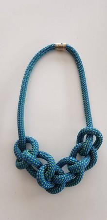 Náhrdelníky - Lano náhrdelník - 9485718_
