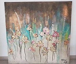 Obrazy - Kvetinove splanutie - 9486417_