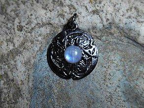 Náhrdelníky - blue moonstone and celtic,zĺava,6,50e!! - 9486610_
