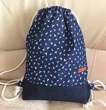Batohy - riflový batoh (motýliky) - 9484974_