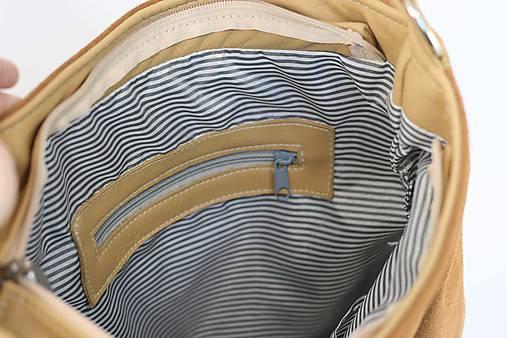 Kožená kabelka Chloe (béžová)   Ammyla - SAShE.sk - Handmade Kabelky 9daf616e315
