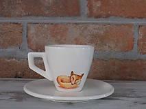 Espresso šálka - Líška