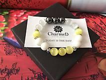 Náramky - Náramok Jarné inšpirácie / Spring inspiration bracelet - 9486297_