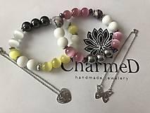 Náramky - Náramok Jarné inšpirácie / Spring inspiration bracelet - 9486299_