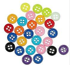 Galantéria - Gombíčky mini plastové 9 mm - 9485593_