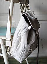 Batohy - Menčestrový ruksak - 9483934_