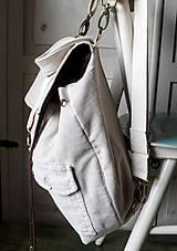 Batohy - Menčestrový ruksak - 9483936_
