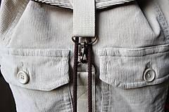 Batohy - Menčestrový ruksak - 9483959_