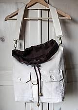Batohy - Menčestrový ruksak - 9483962_