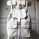 Batohy - Menčestrový ruksak - 9483979_
