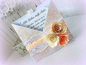 Papiernictvo - Lososové ruže - 9483841_