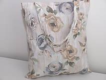 Nákupné tašky - ...ruže na doskách... - 9484058_