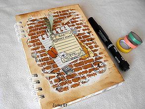 Papiernictvo - Zápisník cestovateľský - 9484437_