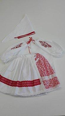 Detské súpravy - Dievčenský kroj 7 - 10 rokov - 9486342_