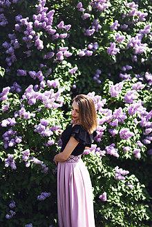Sukne - Sukňa s krížikovou výšivkou - 9488590_